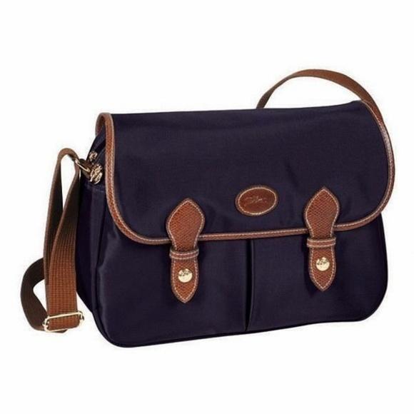 Longchamp Le Pliage Messenger Crossbody Bag